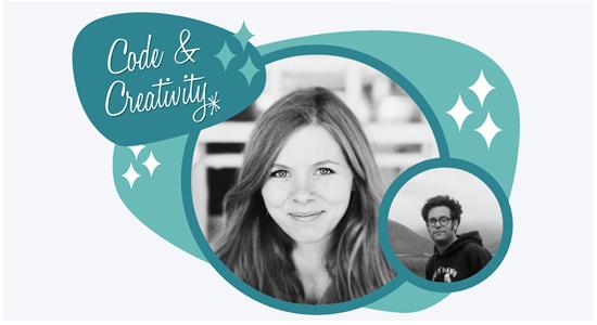 code and creativity image
