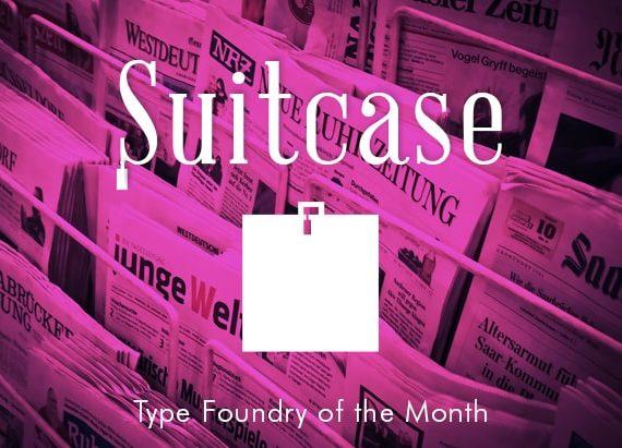 suitecase type logo